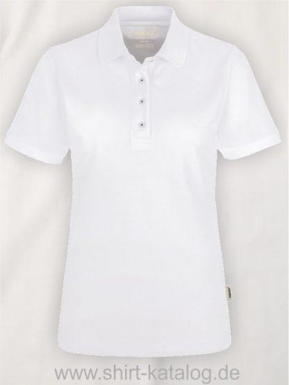 21333-Hakro-Poloshirt-Contrast MIKRALINAR-839-White