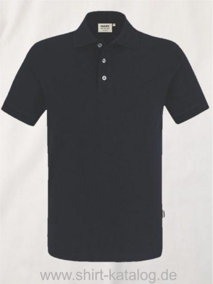 21344-Poloshirt Stretch-822-schwarz
