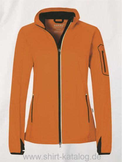 22324-Women-Light-Softshell-Jacke Sidney-256-orange