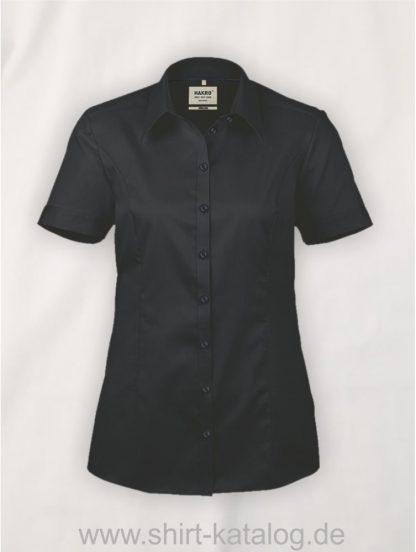 26877-Hakro-Bluse-½-Arm Business-112-schwarz