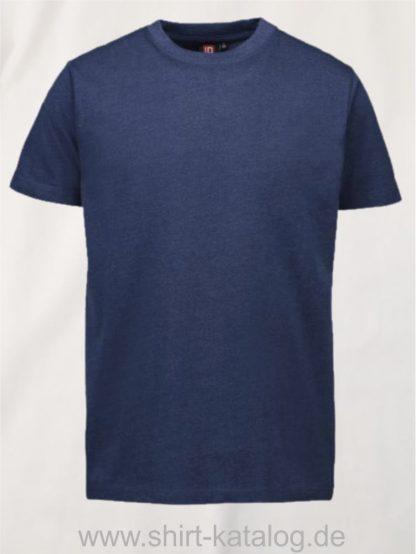 12012-ID-Identity-pro-wear-herren-t-shirt-0300-blau-melange
