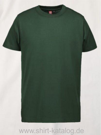 12012-ID-Identity-pro-wear-herren-t-shirt-0300-bottle-green