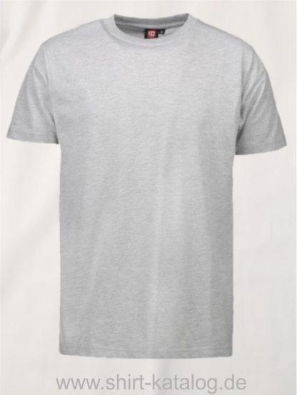 12012-ID-Identity-pro-wear-herren-t-shirt-0300-grey-melange
