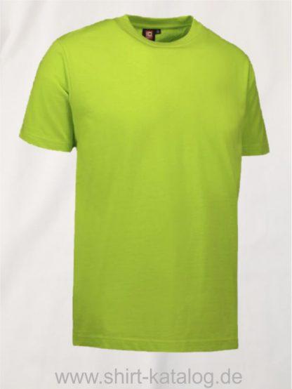 12012-ID-Identity-pro-wear-herren-t-shirt-0300-lime