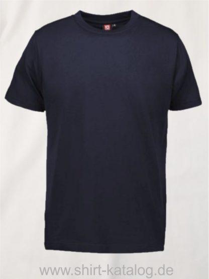 12012-ID-Identity-pro-wear-herren-t-shirt-0300-navy