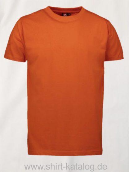 12012-ID-Identity-pro-wear-herren-t-shirt-0300-orange