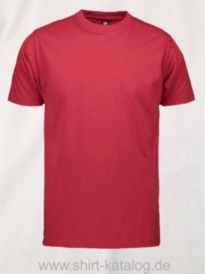 12012-ID-Identity-pro-wear-herren-t-shirt-0300-red