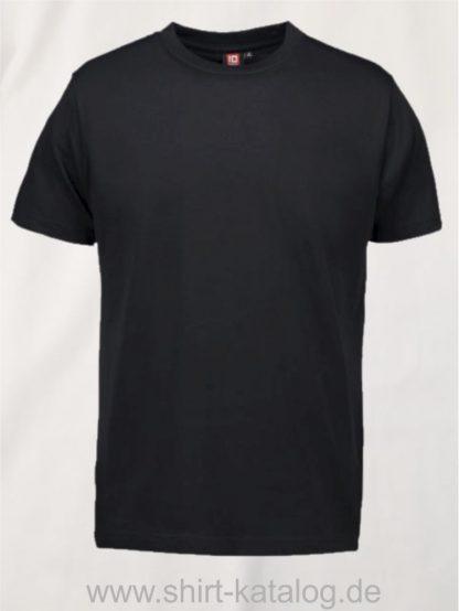 12012-ID-Identity-pro-wear-herren-t-shirt-0300-schwarz