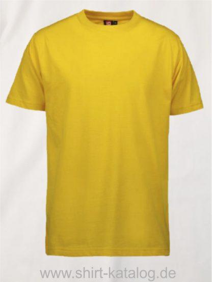 12012-ID-Identity-pro-wear-herren-t-shirt-0300-yellow