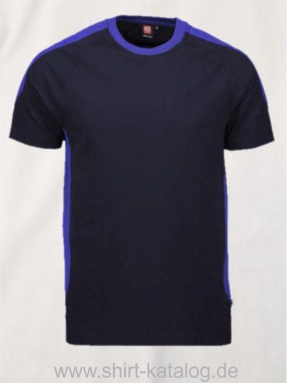 12030-ID-Identity-pro-wear-t-shirt-kontrast-0302-navy