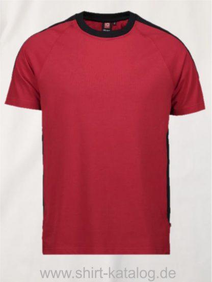 12030-ID-Identity-pro-wear-t-shirt-kontrast-0302-red