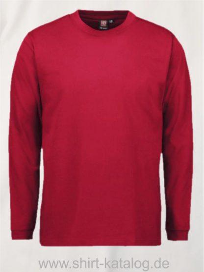 12031-ID-Identity-pro-wear-herren-t-shirt-langarm-0311-red