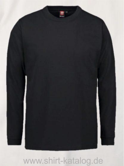 12031-ID-Identity-pro-wear-herren-t-shirt-langarm-0311-schwarz