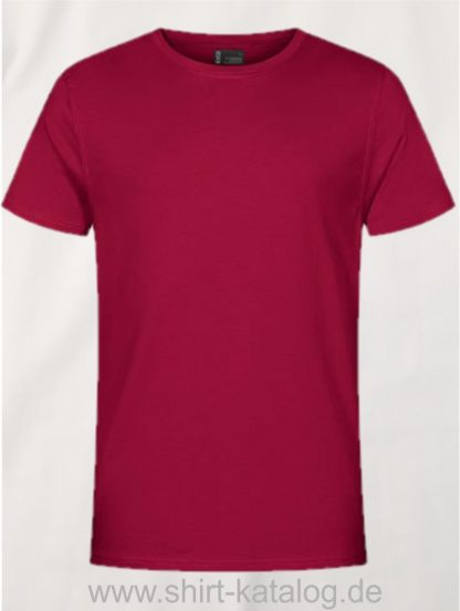 12055-Promodoro-EXCD Men-T-Shirt-3077-Granat