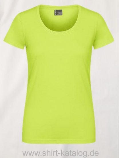 12060-EXCD-Women-T-Shirt-3075-Apple-Green