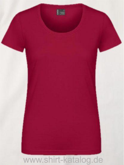 12060-EXCD-Women-T-Shirt-3075-Granat