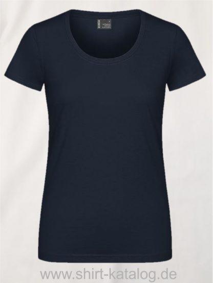 12060-EXCD-Women-T-Shirt-3075-Navy