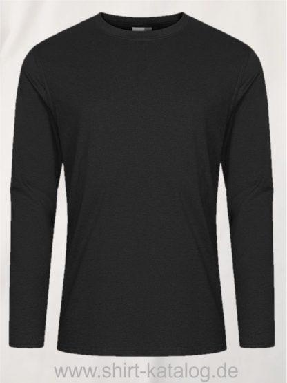 12065-EXCD-Men-T-Shirt-LS-4097-Charcoal