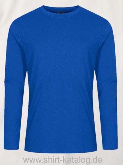 12065-EXCD-Men-T-Shirt-LS-4097-Cobalt-Blue