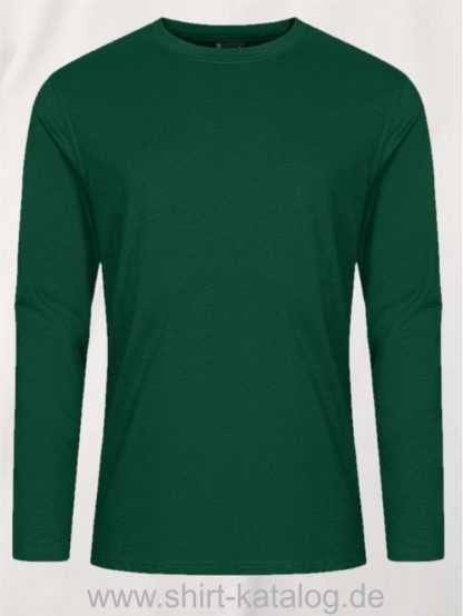 12065-EXCD-Men-T-Shirt-LS-4097-Forest