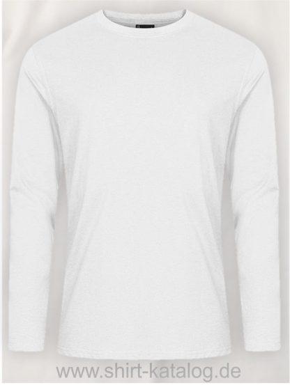 12065-EXCD-Men-T-Shirt-LS-4097-White