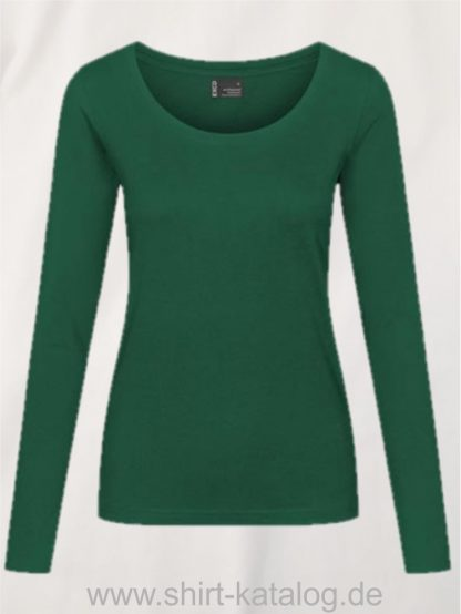 12332-EXCD-Women-T-Shirt LS-4095-Forest