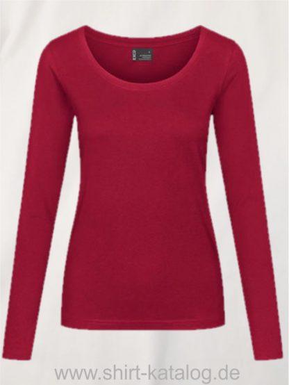 12332-EXCD-Women-T-Shirt LS-4095-Granit