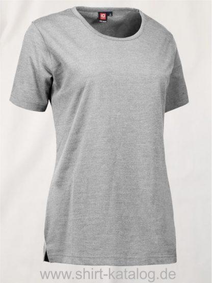 29331-ID-Identity-Pro-Wear-Care-Damen-T-Shirt-0373-Graumeliert