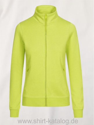 EXCD-Womens-Sweatjacket-apple-green