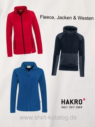 Hakro-Fleece, Westen & Jacken