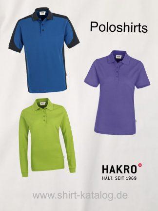 Hakro-Poloshirts