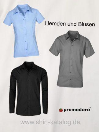 Promodoro-Hemden und Blusen