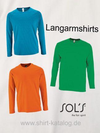 Sol's-Langarmshirts