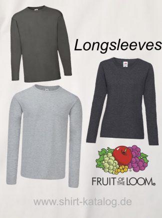 Fruit Of the Loom-Longsleeves