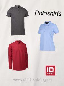 Der Link zu den Poloshirts von ID Identity