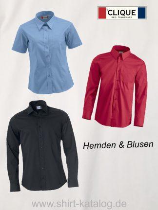 Clique-Hemden & Blusen
