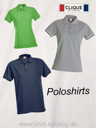 Clique-Poloshirts
