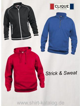 Clique-Strick & Sweatshirts