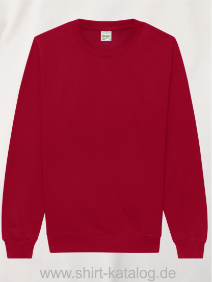 21914-JustHoods-AWD-Sweat-Red-Hot-Chilli-JH030