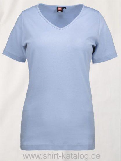 0506-Interlock-Damen-T-Shirt-V-Ausschnitt-hellblau-front