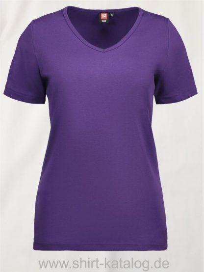 0506-Interlock-Damen-T-Shirt-V-Ausschnitt-lila-front