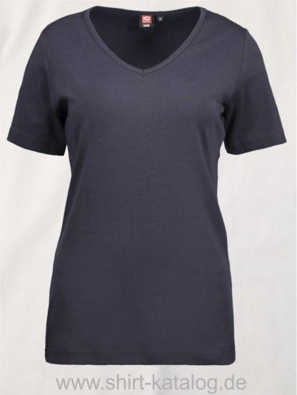 0506-Interlock-Damen-T-Shirt-V-Ausschnitt-navy-front