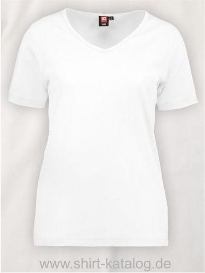 0506-Interlock-Damen-T-Shirt-V-Ausschnitt-weiß-front