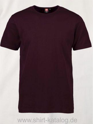 0517-Interlock-Herren-T-Shirt-bordeaux-front