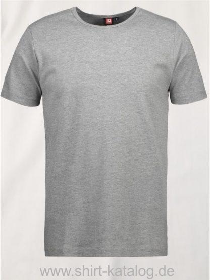 0517-Interlock-Herren-T-Shirt-grau-meliert-front