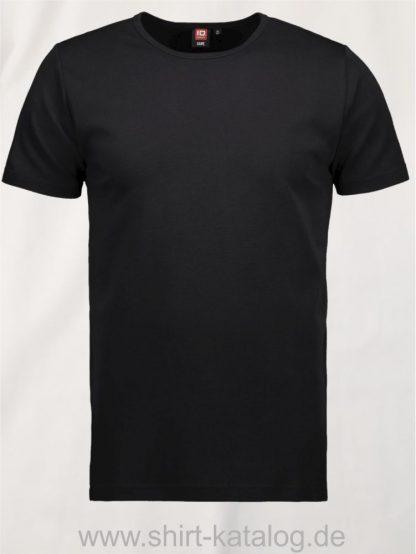 0517-Interlock-Herren-T-Shirt-schwarz-front
