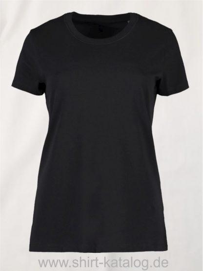 0553-Bio-O-Neck-Damen-schwarz-front