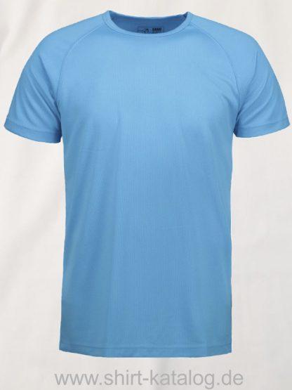 0570-GAME-Active-Herren-T-Shirt-cyan-front
