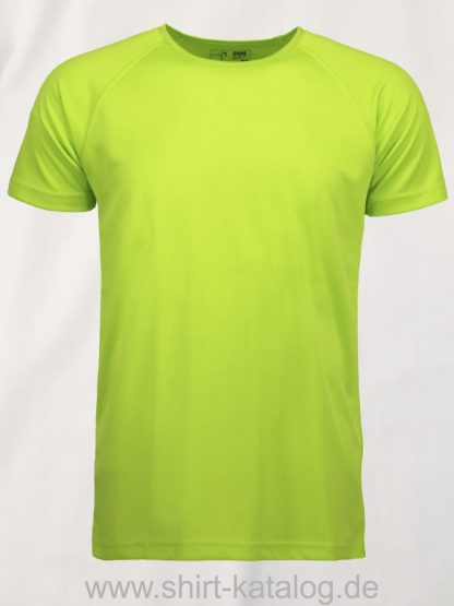0570-GAME-Active-Herren-T-Shirt-lime-front