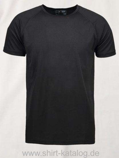 0570-GAME-Active-Herren-T-Shirt-schwarz-front